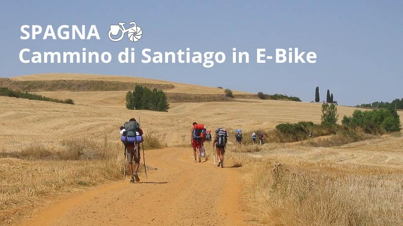 cammino santiago e-bike